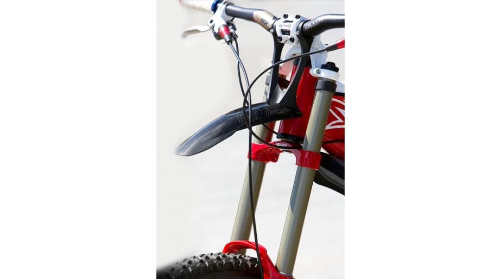 Crud Products Fast Fender DH Schutzblech schwarz mit Lenkerbefestigung
