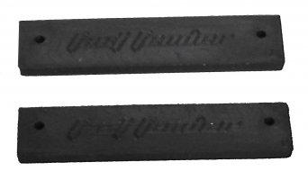 Crud Products Fast Fender DH Schutzblech weiß mit Lenkerbefestigung