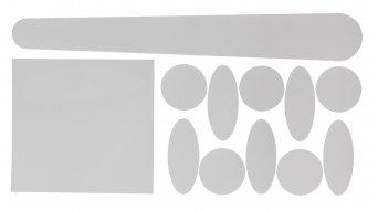 Contec forcellino inferiore-/Rahmenschutz Set trasparente