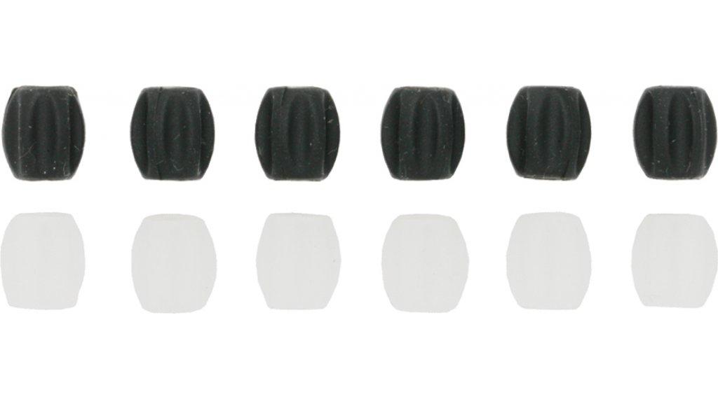 Jagwire Tube Top Mini Brems-/Schaltzug Rahmenschutz schwarz (6 Stk)
