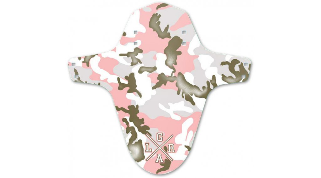 Loose Riders Forest Pink Camo Mudguard mis.  unisize  rosa