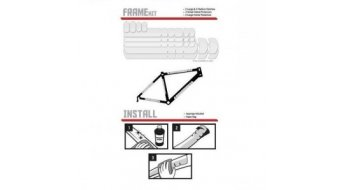 Lizard Skins plásticos protectores Frame-Kit clear
