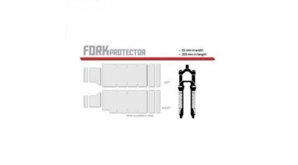 Lizard Skins Fork Protector Gabelschutzfolie clear