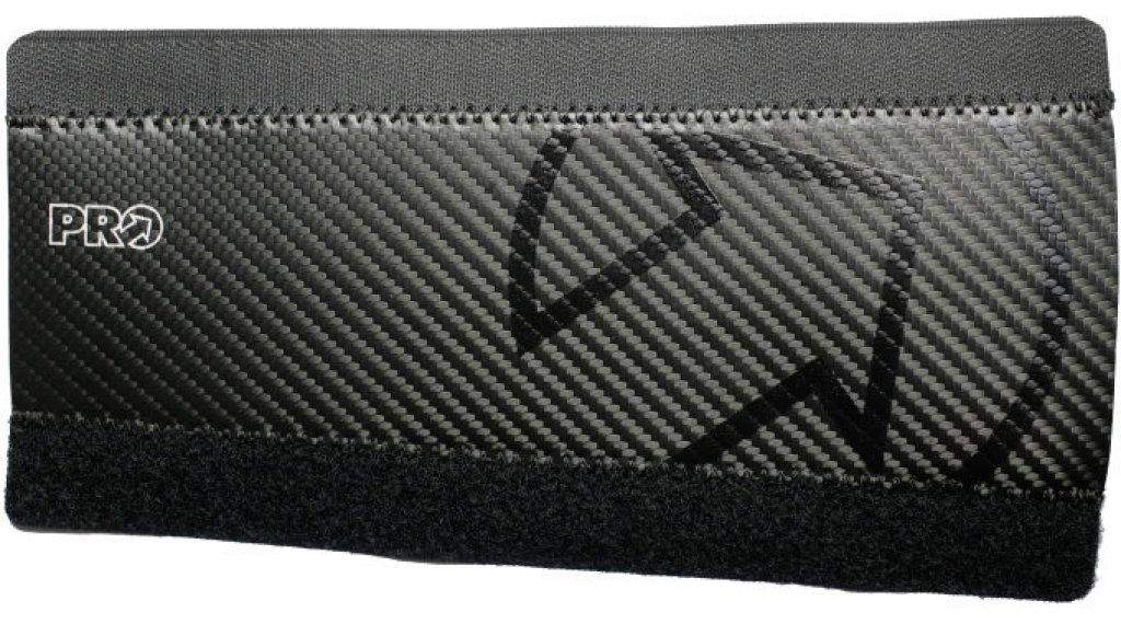 PRO Kettenstrebenschutz aus Neopren mit PU-Carbon Beschichtung black