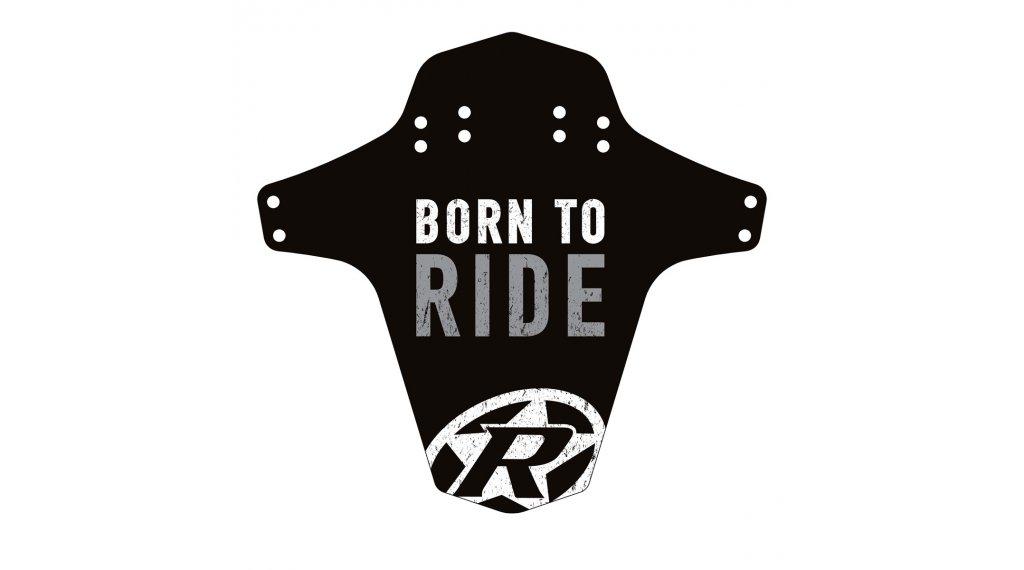 Reverse Mudguard Born to Ride grigio