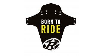 Reverse Mudguard born to ride/yellow