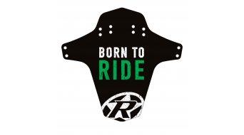 Reverse Mudguard Born to Ride neon verde
