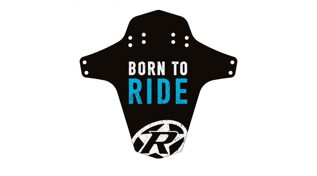Reverse Mudguard Born to Ride light blu