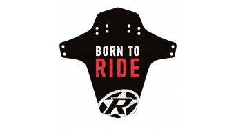 Reverse Mudguard Born to Ride rosso