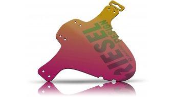 """Riesel Design fango :PE parafango anteriore paraspruzzi 26""""- 29"""" rosso-oro"""