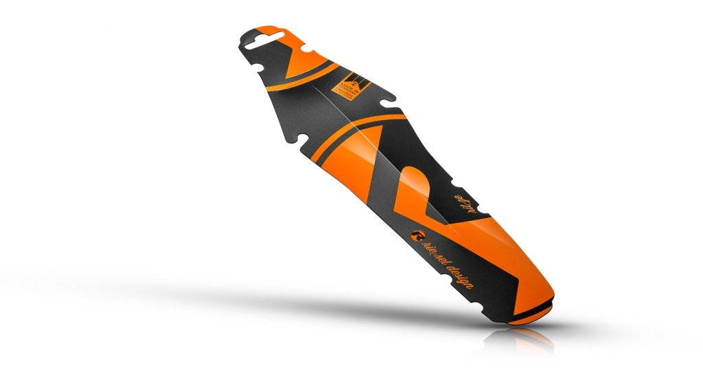 Riesel Design rit:ze Schutzblech Hinterrad Spritzschutz orange