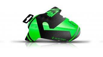 """Riesel Design criss:cross Cyclocross / Gravel Schutzblech Vorderrad Spritzschutz 28"""" green"""