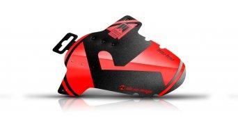 "Riesel Design criss:cross Cyclocross / Gravel Schutzblech Vorderrad Spritzschutz 28"" red"