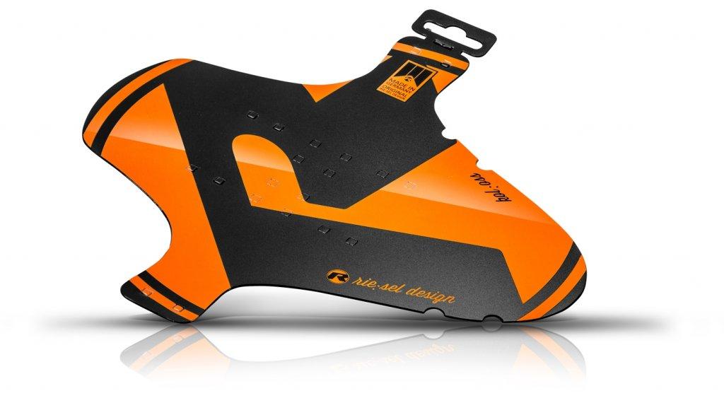 "Riesel Design kol:oss Schutzblech Vorderrad Spritzschutz 26"" - 29"" orange"