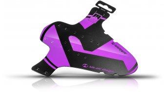"Riesel Design 泥地:PE 挡泥板 前轮 喷溅保护 26""- 29"" purple"