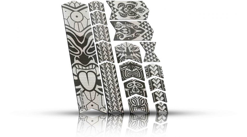 Riesel Design frame Tape 3000 Rahmen-Schutzaufkleber maori