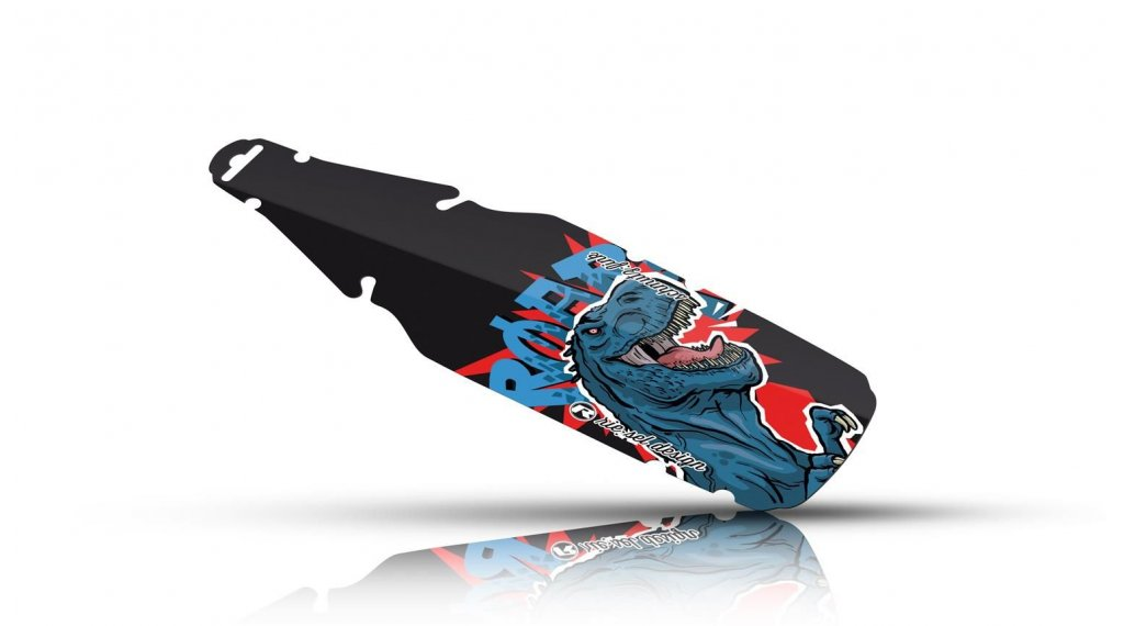 Riesel Design schmutz:fink parafango posteriore paraspruzzi 16- 24 dino boy