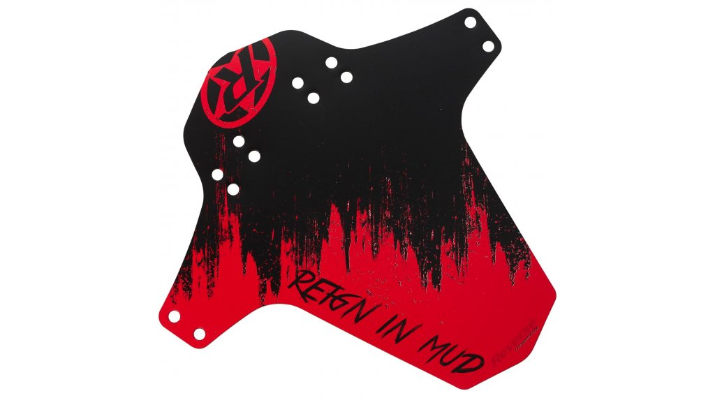 Reverse Mudguard Reign in Mud red/black