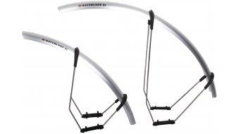 SKS parafango, set ant + post, Raceblade XL argento plastica compatibile per 700x32 gomma