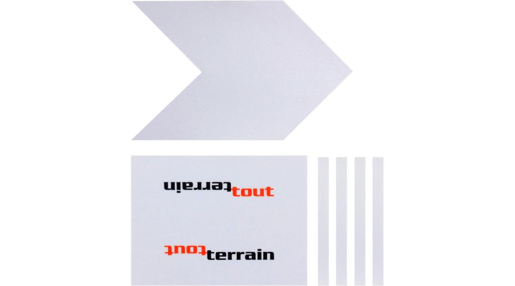Tout Terrain Zefal Skin Armor L Schutzfolien-Set