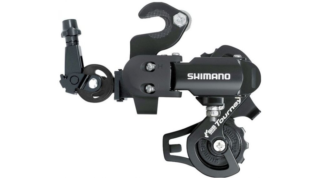 Shimano Tourney RD-FT35 rear derailleur 6/7 speed with adapter (Road type ) black