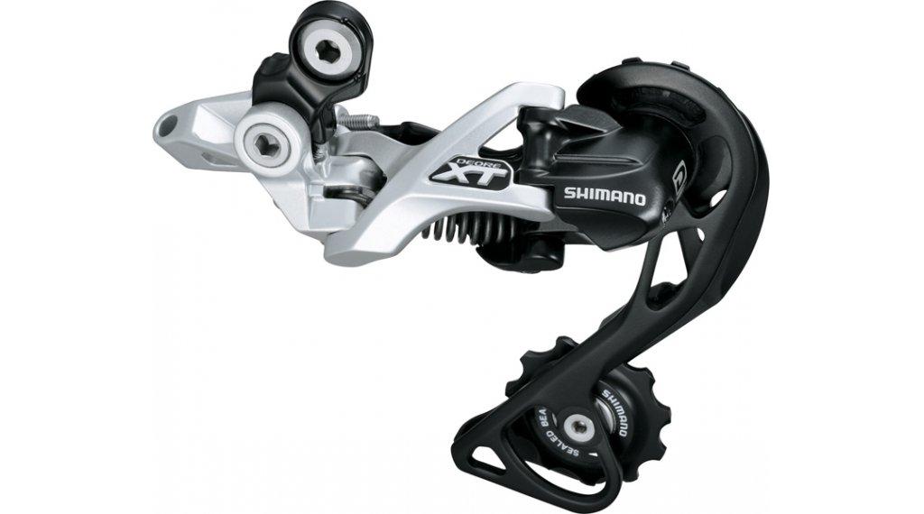 Shimano XT RD-M780 GS Shadow rear derailleur silver 10 speed Top normal medium cage