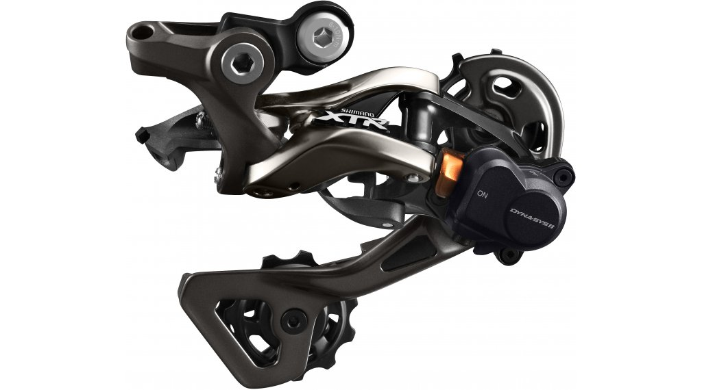 Shimano XTR RD-M9000 GS Shadow Plus rear derailleur 11 speed Top- normal short cage
