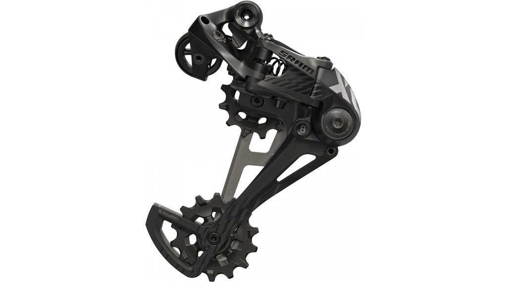SRAM X01 Eagle rear derailleur 12 speed type 3.0 black