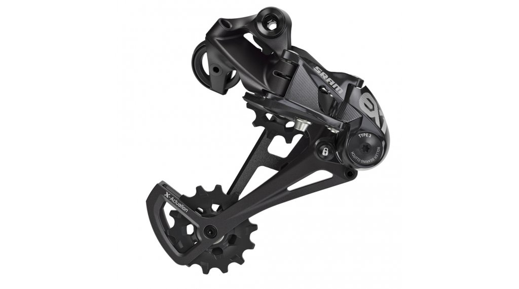 SRAM EX1 rear derailleur 8 speed type 3.0 E- bike black