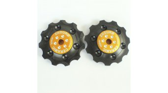 Enduro Bearings BKCJ 0135 ZERO Schalt pulley BKCJ 0135 Shimano 9-/10 speed gold