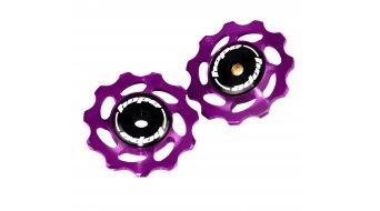 Hope Tooth Jockey Schaltwerksrollen (Paar) 11T purple