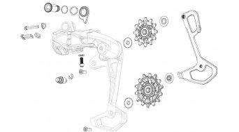SRAM Комплект водещи ролки, за Rival eTap AXS