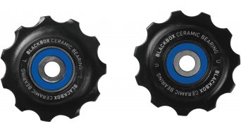 SRAM ceramic- bearing Schaltrollen- set Road 11tooth black 2012