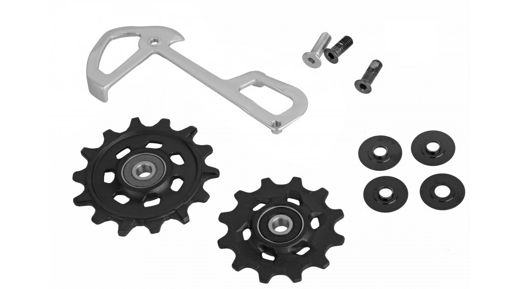 SRAM X01 Eagle spare part inside käfig and Schaltrollen grey