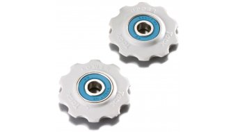Tacx derailleur pulley Shimano 7-/8 speed/Campa 8-/9-/10 speed 10  teeth ceramic- bearing T4025