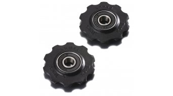 Tacx derailleur pulley Shimano 7-/8 speed/Campa 8-/9-/10 speed 10  teeth Edel steel- bearing T4020 (Fig. similar))