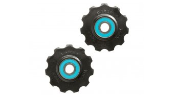 Tacx derailleur pulley Tefloncompound-plastic Shimano 9-/- 10 speed/Campa 11 speed 11  teeth ceramic- bearing T4035