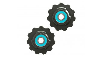 Tacx derailleur pulley Tefloncompound-plastic SRAM Race 11  teeth ceramic- bearing T4040