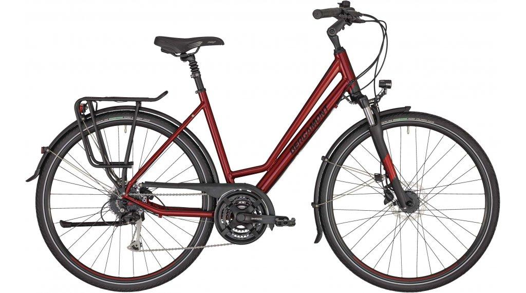 "Bergamont Horizon 4 Amsterdam 28"" Trekking Komplettrad Gr. 44 cm red/black (matt/shiny) Mod. 2020"