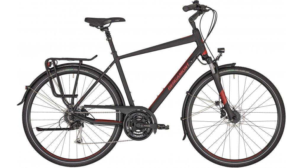 "Bergamont Horizon 4 Gent 28"" Trekking Komplettrad Gr. 48 cm black/red (matt/shiny) Mod. 2020"