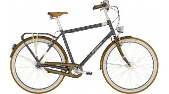 "Bergamont Summerville N7 FH Gent 28"" City bike dark grey/dark gold/creme white (shiny) 2020"