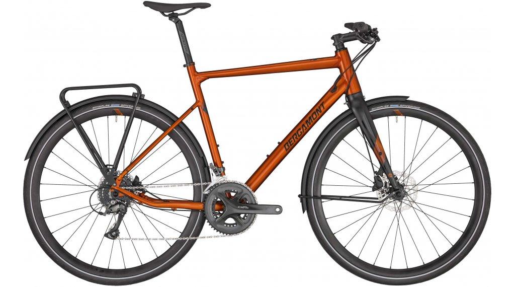 """Bergamont Sweep 5 EQ 28"""" Urban 整车 型号 52厘米 dirty 橙色/black (matt/shiny) 款型 2020"""