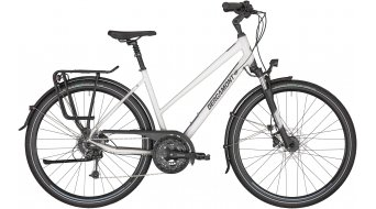 "Bergamont Horizon 6 Lady 28"" trekking bici completa da donna mis. 48cm bianco/nero/argento blu (opaco/shiny) mod. 2020"