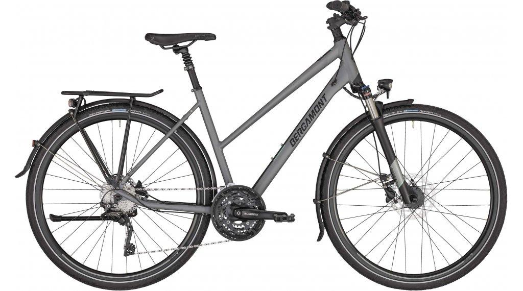 "Bergamont Horizon 7 Lady 28"" Trekking Damenkomplettrad Gr. 44 cm silver/black (matt) Mod. 2020"