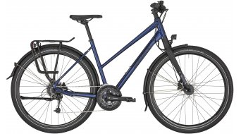 "Bergamont Vitess 6 Lady 28"" Trekking 女士komplettrad 型号 midnight blue/black/silver (matt/shiny) 款型 2020"