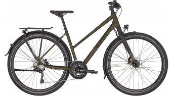 "Bergamont Vitess 7 Lady 28"" Trekking 女士komplettrad 型号 dark olive green/black/rosé (matt) 款型 2020"