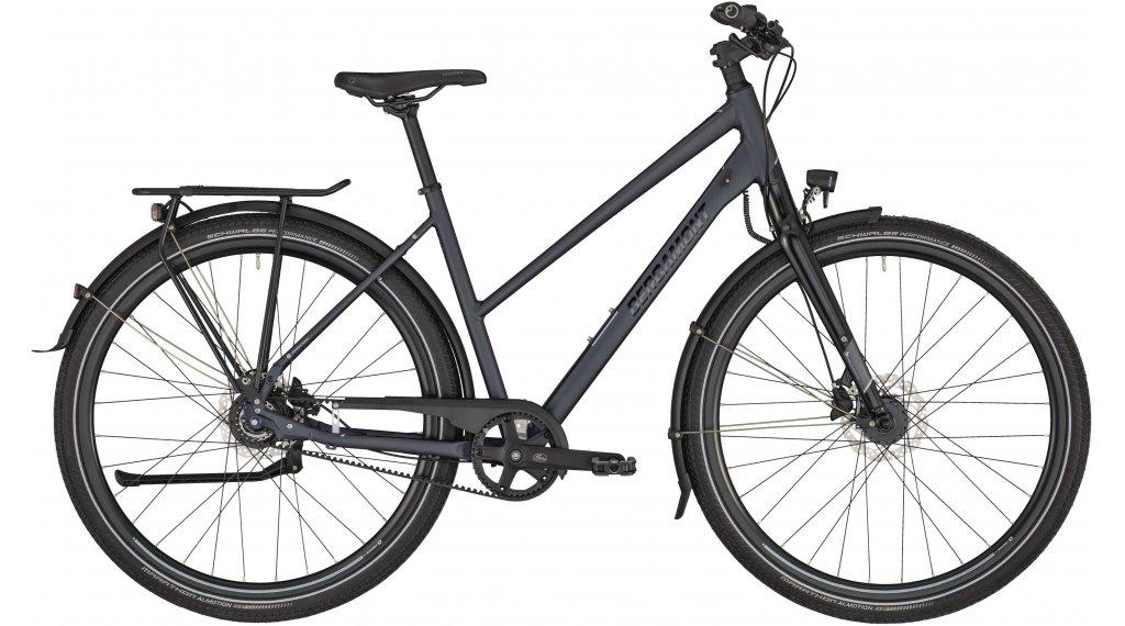 "Bergamont Vitess N8 Belt 28"" trekking bike ladies size 56cm anthracite/black 2021"