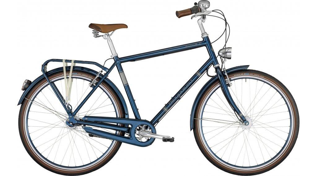 """Bergamont Summerville N7 FH 28"""" City Komplettrad Herren Gr. 48cm pacific blue/white/chrome Mod. 2021"""