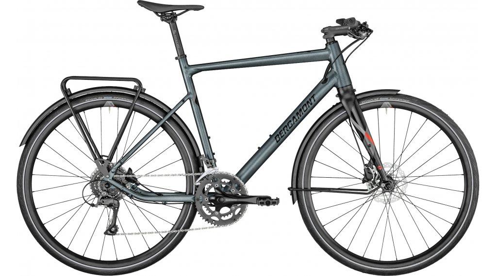 Bergamont Sweep 4 EQ 28 Urban bici completa tamaño 48cm flaky plata-azul/negro/rojo Mod. 2021