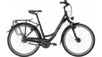 Bergamont Belami N8 CB 26 C1 26 City bike Unisex size 44cm black/white (matt) 2017